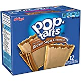 Pop-Tarts, Frosted Brown Sugar Cinnamon,21 oz, 12-Count Tarts (Pack of 12)