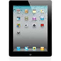 Apple iPad 2 MC769LL/A - 16GB - 2nd Generation (Black) - Tablet with Skin (Certified Refurbished)
