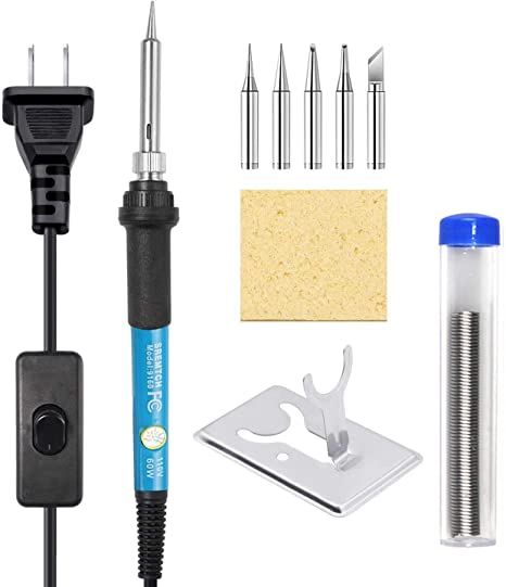 Soldering Iron Tip-Easy To Clean Portable Soldering Iron Tip with Fast Conductive Line
