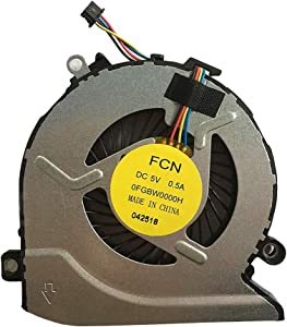 Replacement for HP Pavilion 15-AB 17-G 15-AB000 15-AB100 Series CPU Cooling Fan PN 806747-001 812111-001 812109-001 816119-001