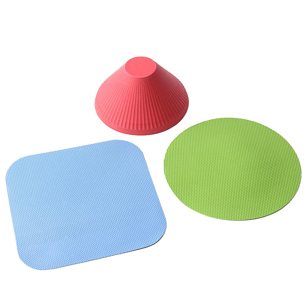 HJKGSVdv Apribottiglie per tappetino in gomma portatili manuali antisdrucciolo per cucina