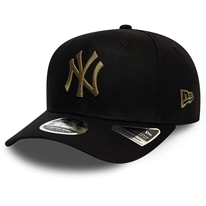 New Era Gorra Snapback 9FIFTY MLB Tonal Stretch York Yankees Negro ...
