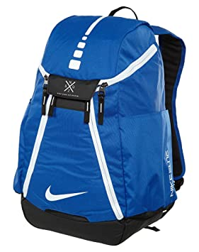 Nike Hoops Elite Max Air Team 2.0 Basketball Backpack Game Royal Black White 7247dc7a1491e