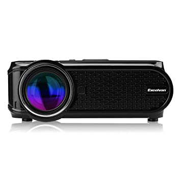 Excelvan EHD02 - Mini Proyector portátil LED Home Cinema (1000 ...