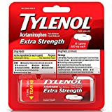 TYLENOL Extra Strength Caplets 10 ea (Pack of 2)
