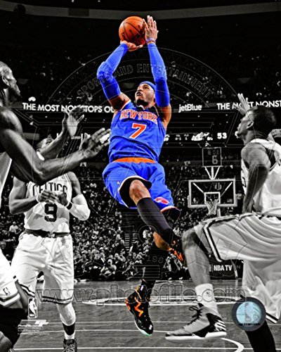 Carmelo Anthony 2012-13 Spotlight Action Photo 8 x 10in 8x10 Action Nba Photo
