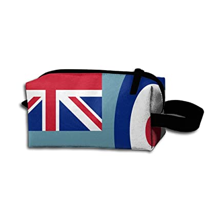 Air Force Ensigh Of The United Kingdom Pencil Case Medicine Bag Toiletry Bag Toiletry Pouch Makeup Organizer Clutch Bag With Zipper For Women Girls