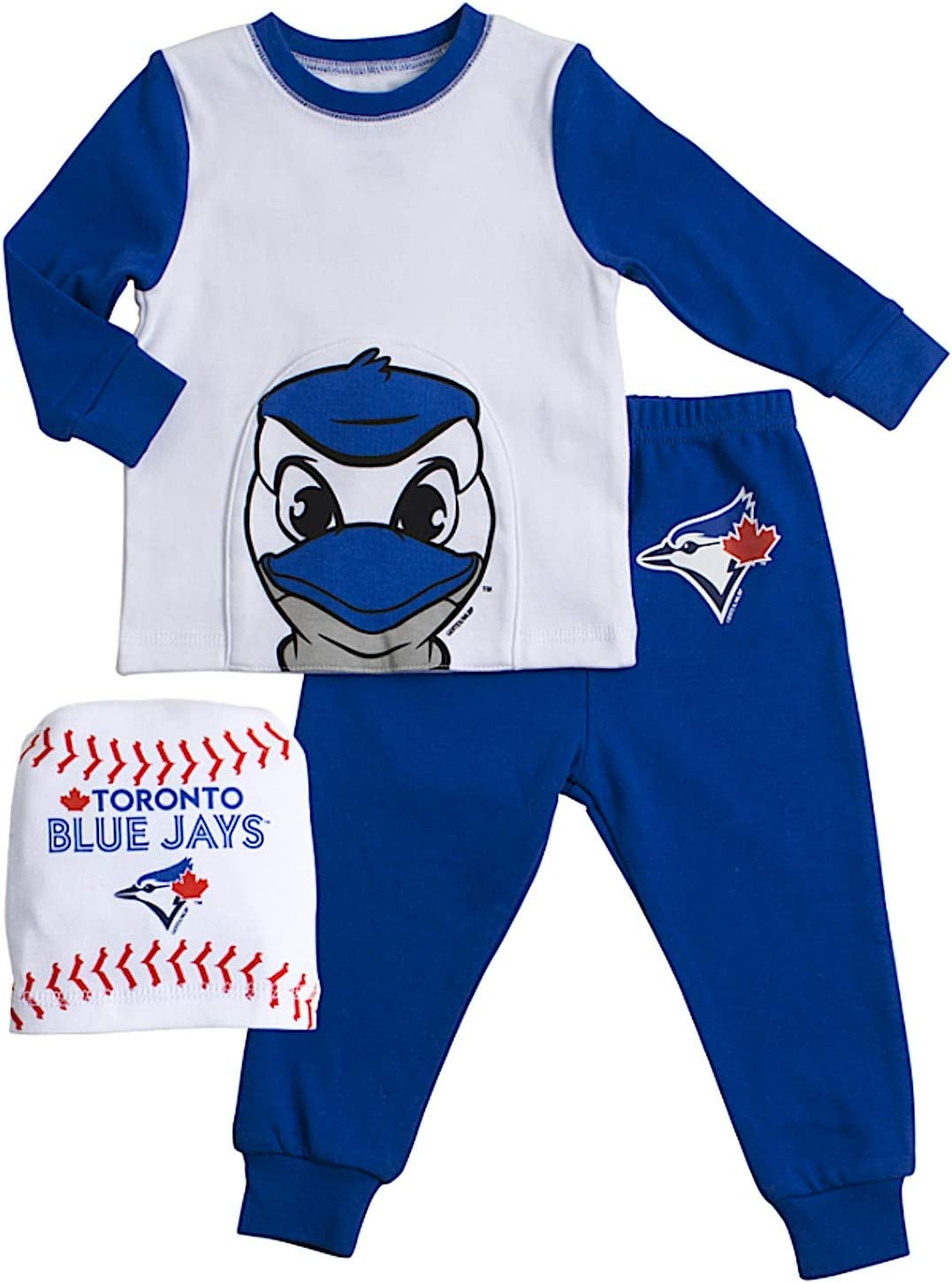 MLB Toronto Blue Jays Toddler Covert A Toy 2 Piece Pant Set 12 Months