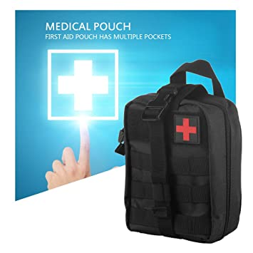 Tactical First Aid Kit Survival Kit Molle Rip-Away EMT Pouch Bags IFAK Medical