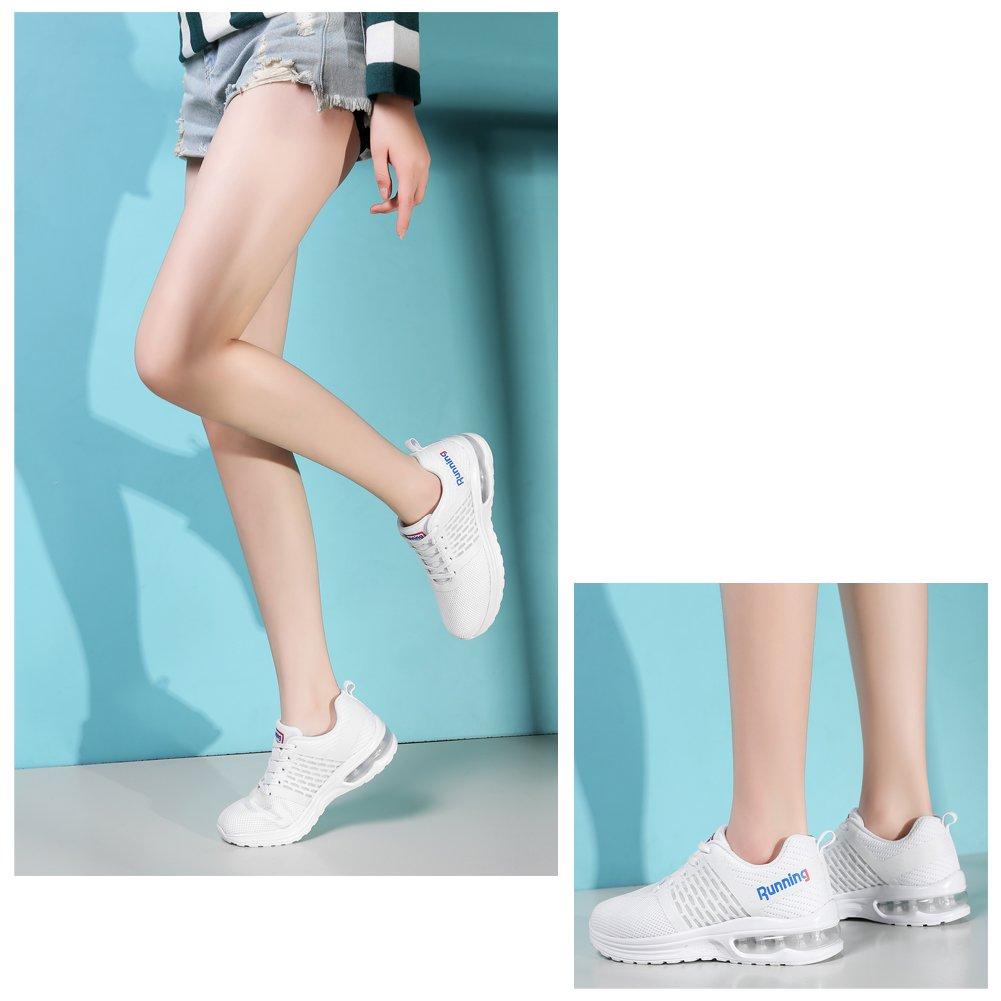 TORISKY Zapatillas de Deporte Zapatos Sneakers Aire Libre Running Para Hombre Mujer(A59-WH39)
