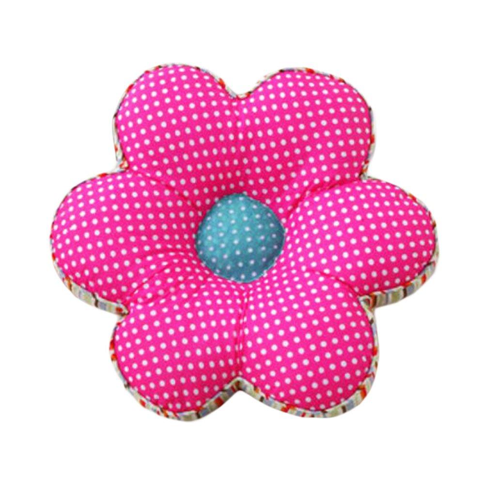 Black Temptation Blumen-Rückseiten -Kissen-Kissen Büro/Auto-Baumwolle Tatami Bodenkissen-Rose Rot