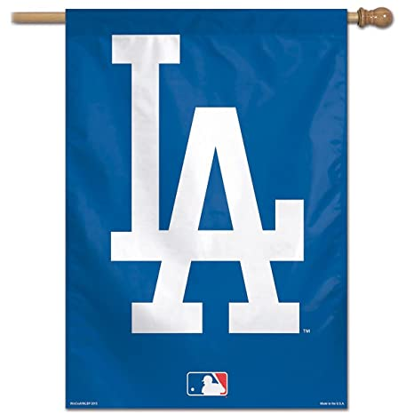 Amazon Wincraft La Dodgers Home And House Flag Sports Outdoors