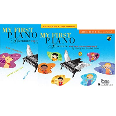 My First Piano Adventure for the Younger Beginner - Two Book Set - Includes Lesson Book B and Writing Book B: Toys & Games