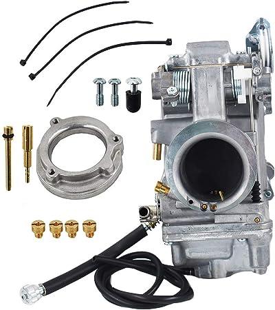 HSR Carb Carburetor 42-18 42 mm Easy Kit For Harley EVO Twin Cam Evo