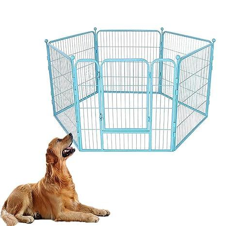FXQIN Parque de Juegos para Mascotas : Se adjunta fácilmente ...