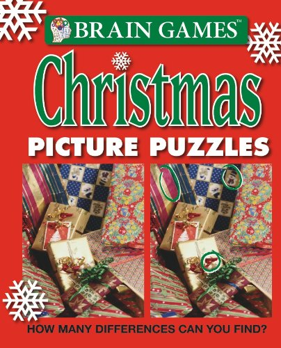 Brain Games Christmas Picture Puzzles product image