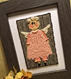 Punch Needle Embroidery BARN ANGEL