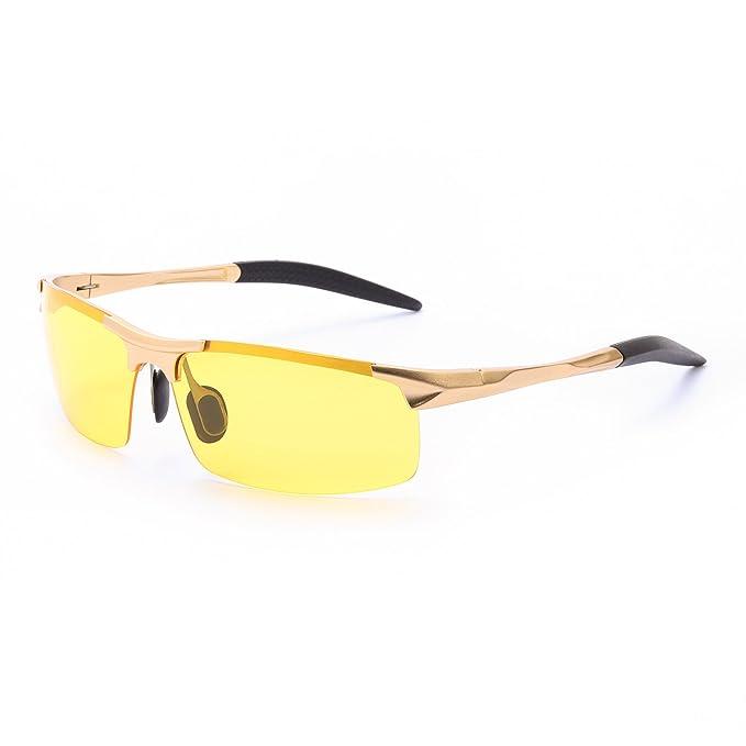 Amazon.com: TOSGAD Gafas de conducción nocturna ...