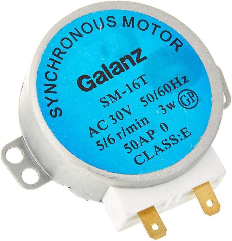 LIUSHUI Horno de microondas de Motor síncrono para SM-16T AC 30V 3.5 / 4W 5 / 6RPM Tipo