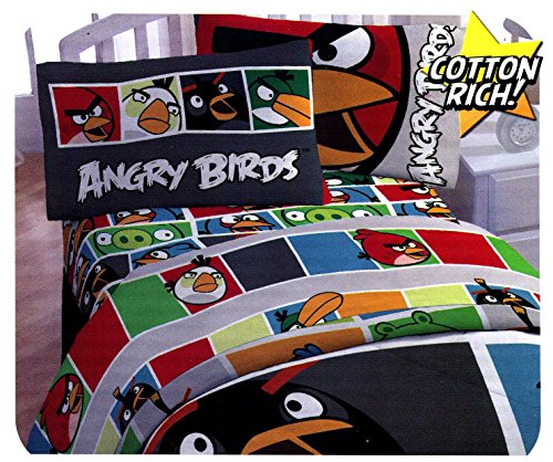 Angry Birds Sheet Colors Sheets