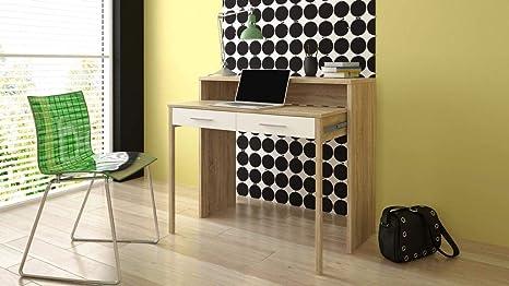 Home innovation bureau informatique console extensible table
