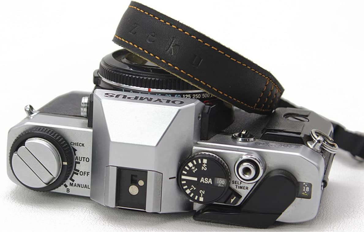 Matoger Leather Camera hand Strap Belt Side axis camera micro sigle camer for SLR camera Canon Nikon Sony