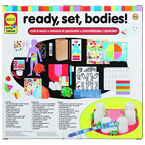 ALEX Toys Little Hands Ready, Set, Bodies