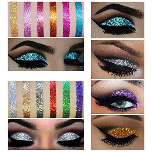 Euone  Valentine Clearance Sale , Shimmer Glitter Eye Shadow Powder Palette Matte Eyeshadow Cosmetic Makeup