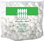 Perfect Stix Cotton Balls M Cotton Balls, Pack of 500ct, Plain