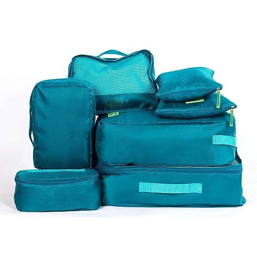 Juego de organizador de equipaje Weekender 7PCS Packing ...