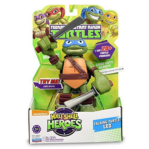 Tortugas Ninja HSH - Figura con Sonidos, 15 cm - Leo: Amazon ...