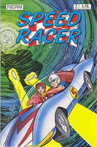 Speed Racer (1st Series) #7 VF/NM ; Now comic book