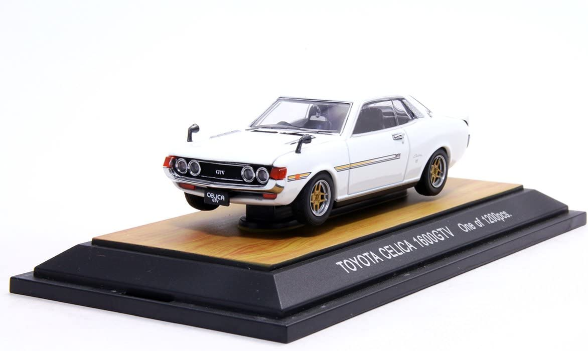 tosa collections 1/43 TOYOTA CELICA 1600GTV WHITE