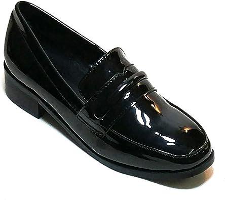 Women Shoes Block Heel Slip