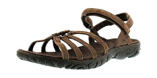 3945ef0c Teva Kayenta Suede, Sandalias de Punta Descubierta para Mujer: Amazon.es:  Zapatos y complementos