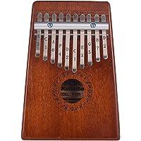 Muslady 10-Key Thumb Piano Kalimba Mbira Mahogany Wood Gecko K10S Musical Instrument