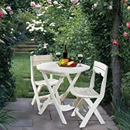 Adams Manufacturing Quik-Fold Cafe Bistro Set