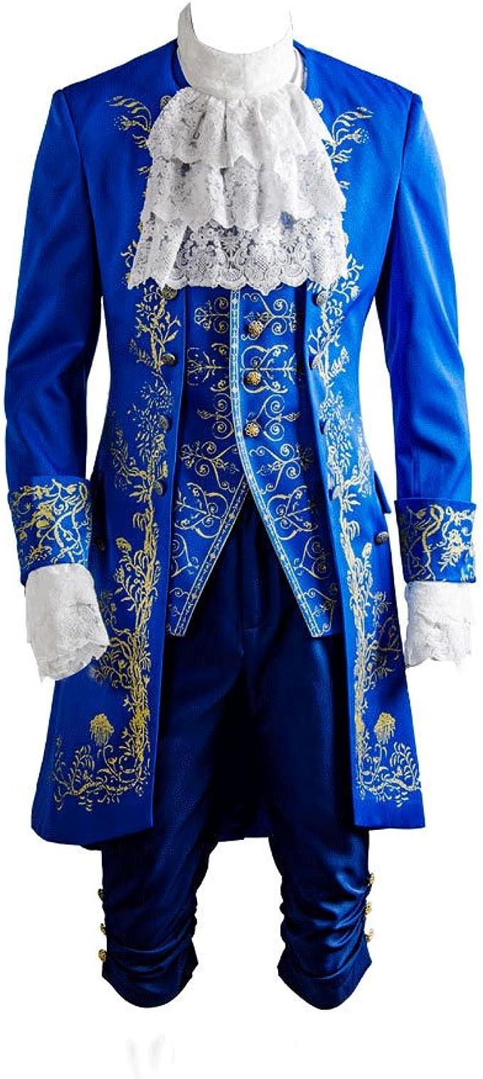 Disfraz De Pelicula De Hombre Principe Adam Cosplay Suit ...