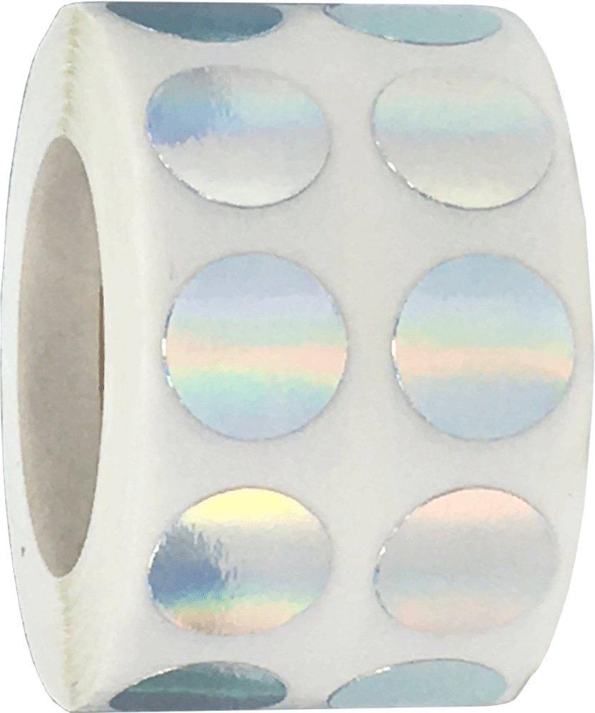 Azul Acero Circulo Punto Pegatinas 13 mm 1//2 Pulgada Redonda 1000 Etiquetas en un Rollo