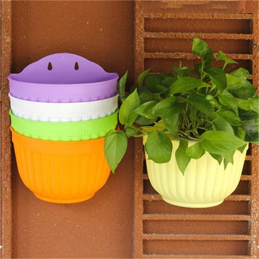 Gartenarbeit Orange Wankd 2er Set Wandblumentopf With 4 Haken Wandampel Draussen Balkon Ubertopf Weiss L 21 X W 12 5 X H 18 Cm Halbrund Garten Fbotion Com Br