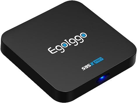 Promoción] Android TV Box -S95X PRO TV Box Amlogic S905X Quad Core Cortex-A53 2GB RAM & 16GB ROM, 2.4G WiFi /4K*2K UHD H.265 /HDMI Smart TV Box: Amazon.es: Electrónica
