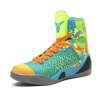 4a7cf3eef3db6 Amazon.com: Hy Men's High-top Basketball Shoes Spring/Fall New ...