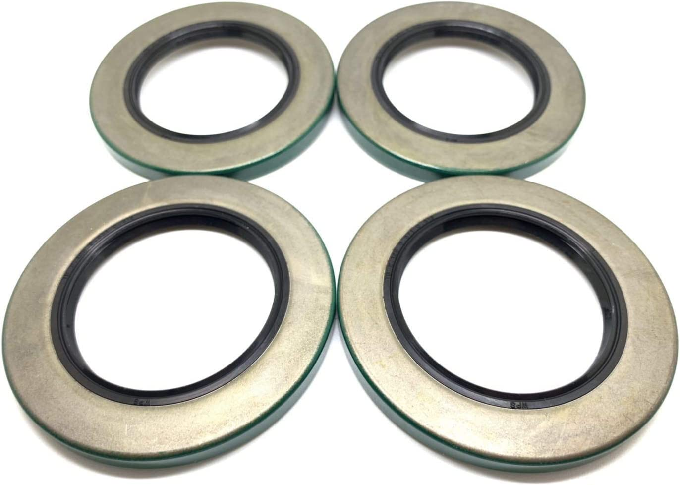 (Pack of 4) WPS Trailer Hub Wheel Grease Seals 10-10 (21333TB) for 5200-7000# Axles 2.125'' X 3.376'' 61TlV0TwvmL