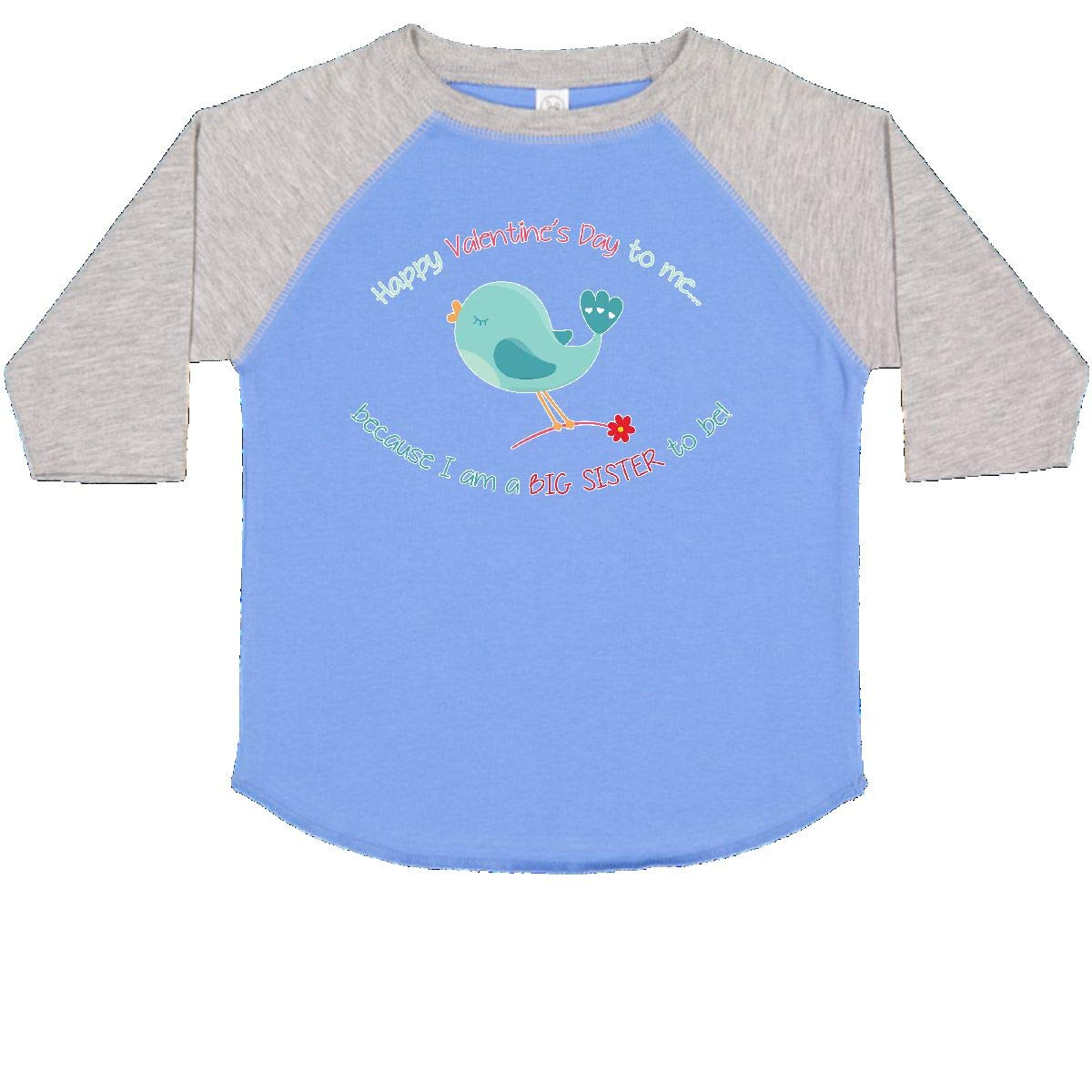 inktastic Big Sister to Be Toddler T-Shirt