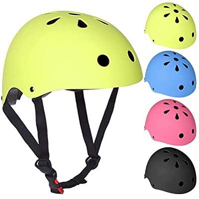 Petyoung Adjustable Kids Bike Helmet for Boys Girls, Safety Toddler Helmet for Multi-Sports Cycling Skating Climbing Scooter Helmet : Sports & Outdoors