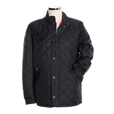 Barbour Mens Flyweight Chelsea Quilt Jacket Small Black At