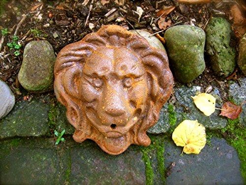 Antikas Water Spout Gargoyle Lion Lion Head Wall Fountain Water Feature Fountain Accessories Spout