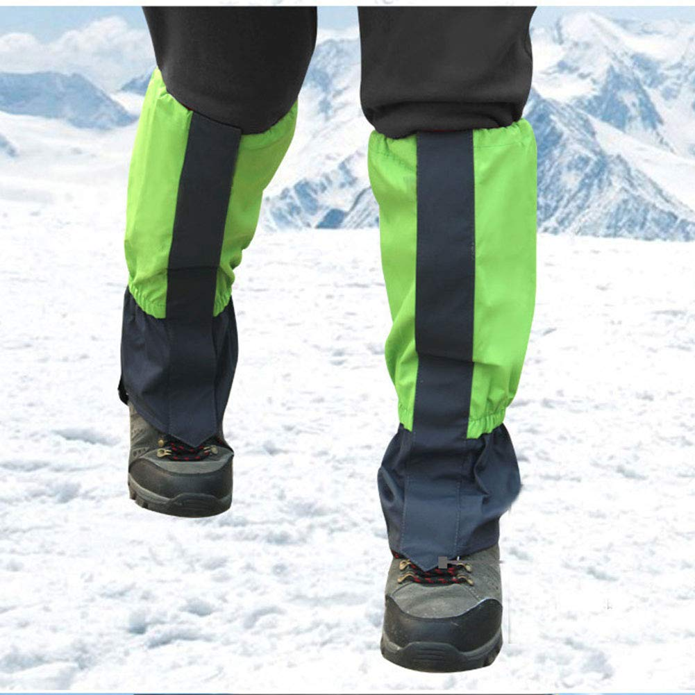 YAOTT 1 par Polainas Impermeables de Invierno Cubierta de Zapatos Deportivos al Aire Libre para Escalada Senderismo para ni/ños//Adultos