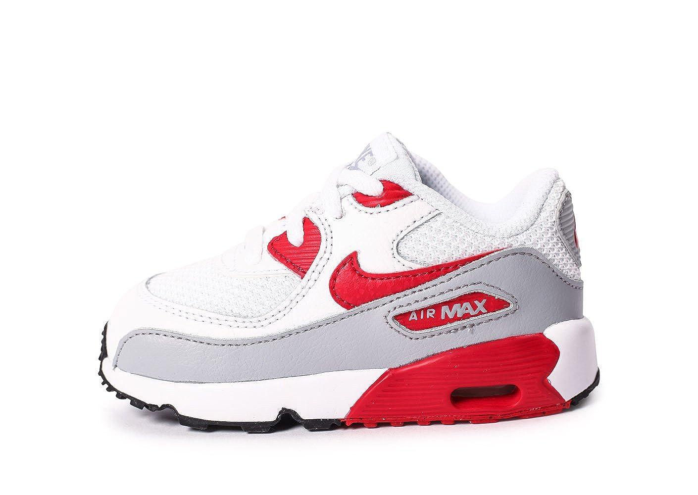 Nike Air MAX 90 Mesh (TD), Zapatos de Primeros Pasos para Bebé s Zapatos de Primeros Pasos para Bebés