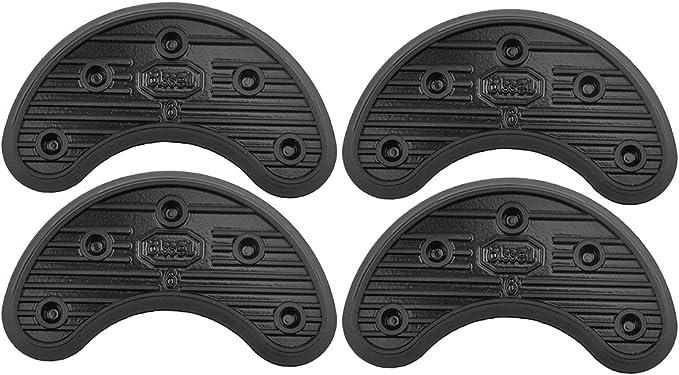 2ペア シューズ補修材 かかと 靴底修理キット 靴底用補修材 ソール インソール 4サイズ選べる